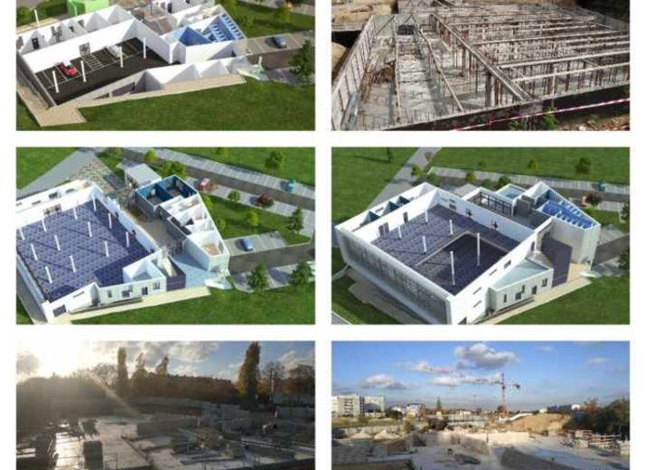Construction de la nouvelle mosquée du Blanc-Mesnil