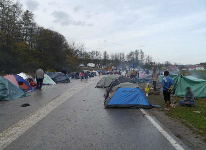 Yalla Yalla Europe - Supporting Refugees along the Balkan Route
