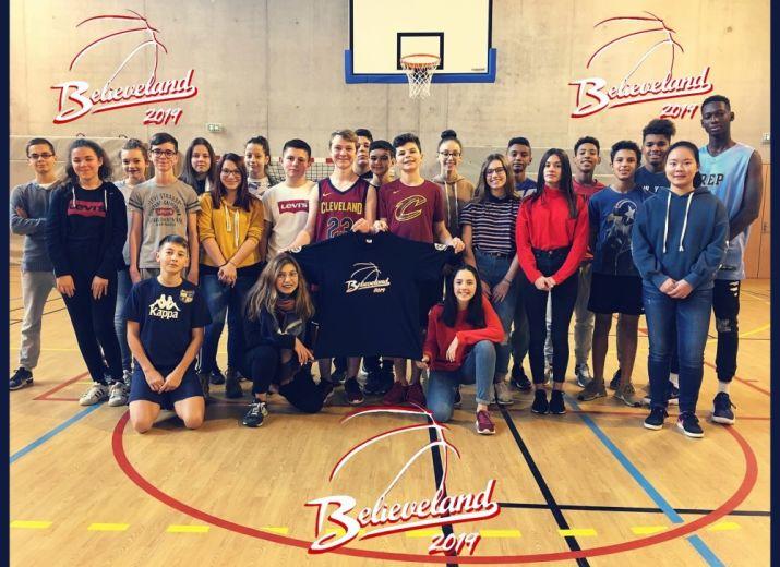 Les élèves de Branly à Cleveland