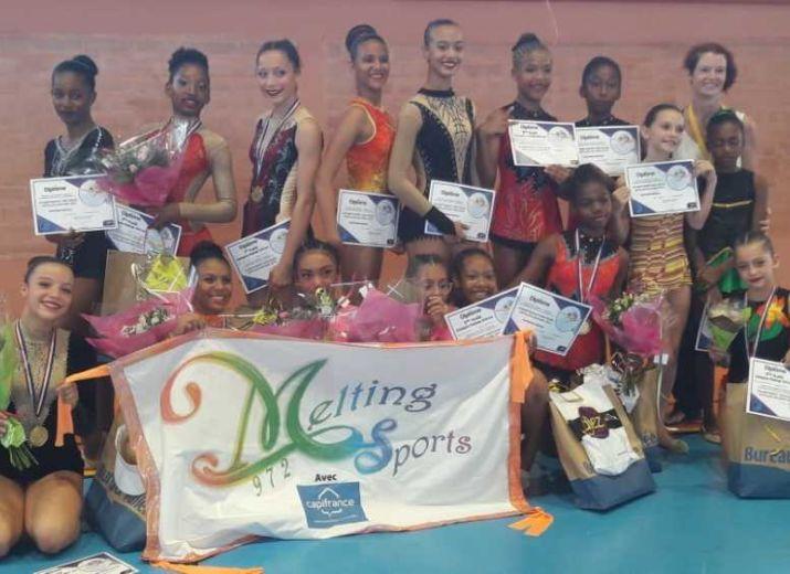 Aidez nos filles à participer aux Championnats Antilles-Guyane GR - MELTING SPORT 972