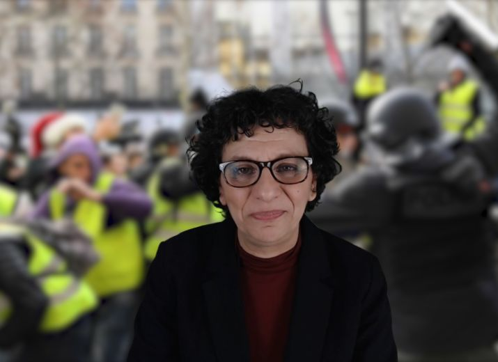 Conseil de discipline contre Farida Belghoul