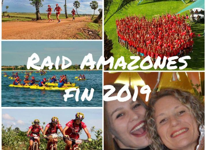LES BAROUDEUSES - Raid Amazones fin 2019