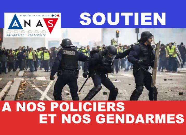 Soutien à nos Policiers et nos Gendarmes