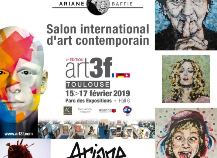 Salon Art3F Toulouse Ariane Baffie