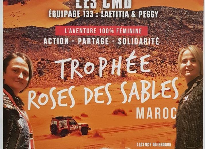 Les CMD trophée Rallye roses des sables 2019