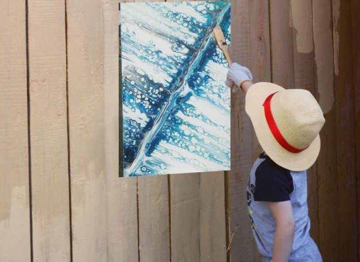 Kunst ist (m) ein Weg zurück ins Leben