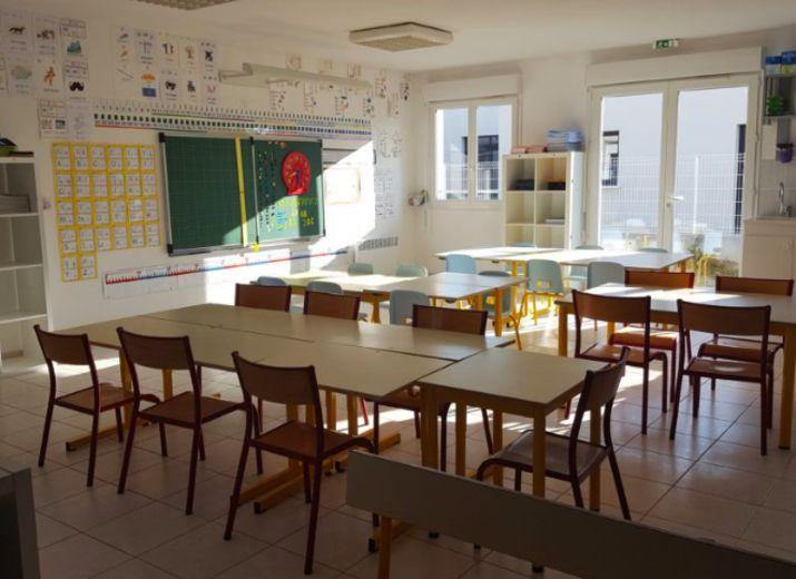 Travaux de l'école Calandreta Cardonilha