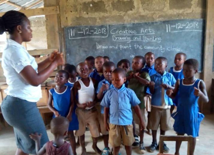 TOUS UNIS POUR BATABI (rénovation de la maternelle)!