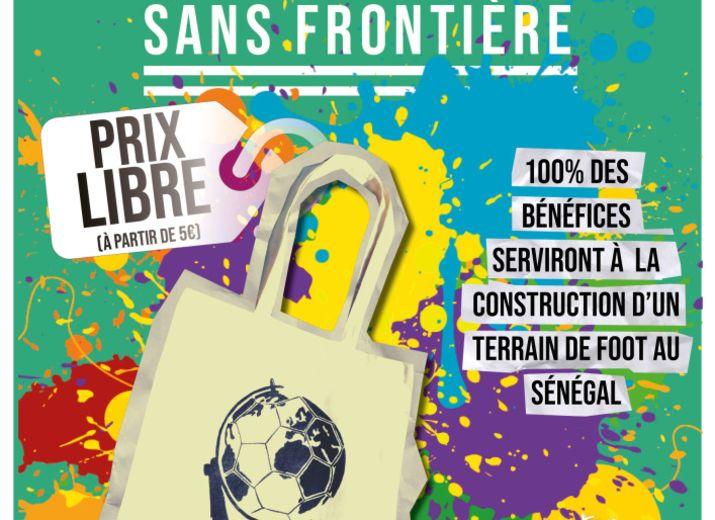 Le tote-bag solidaire - Football globe-trotters