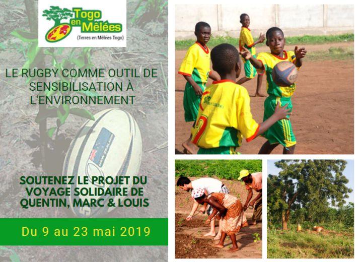Rugby Solidaire Togo en Mêlées - 2019