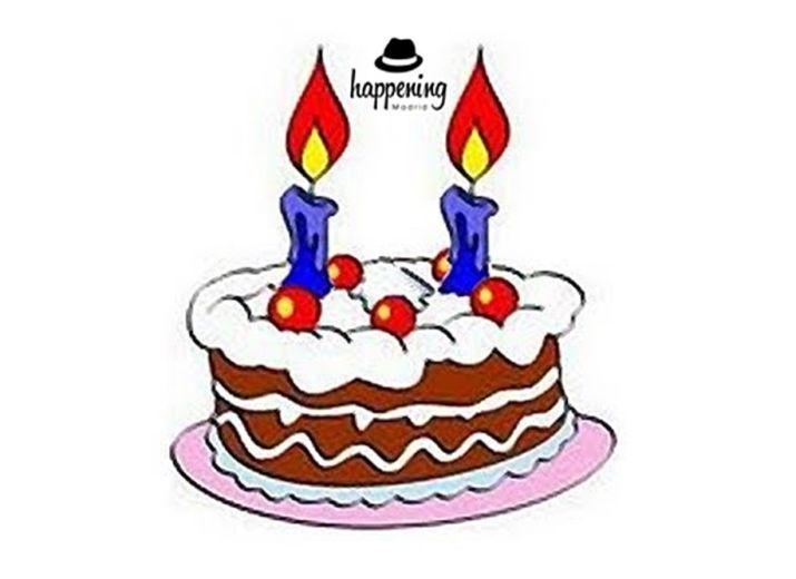 Mi cumpleaños. Apoyo web Happening