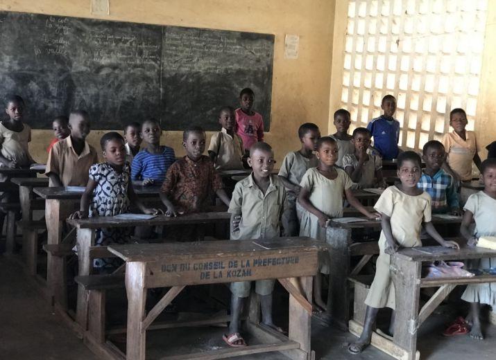 Une rentrée scolaire pour un enfant