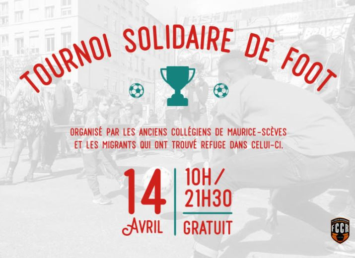 Tournoi solidaire Croix-Rousse - Journée mondiale du football