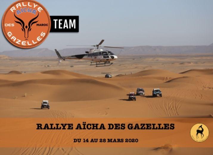 Participation au Rallye Aïcha des Gazelles 2020