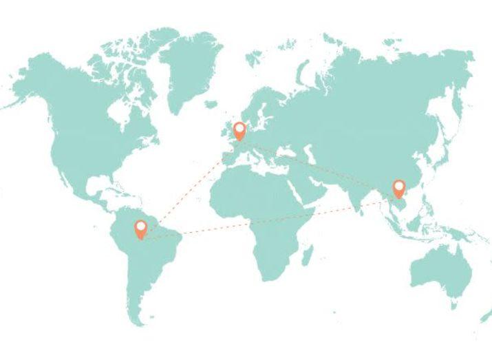 D'ici et d'ailleurs - Un partenariat pédagogique et créatif entre des écoles et deux familles en voyage