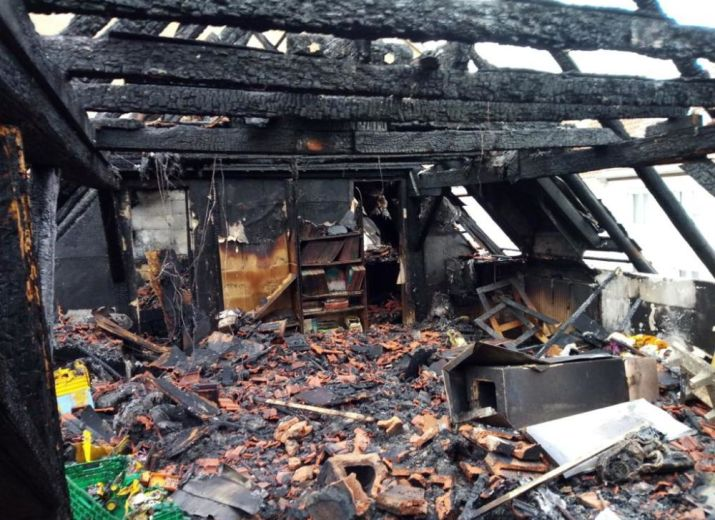 Incendie d'une maison et d'une entreprise, aidez-nous à les soutenir !