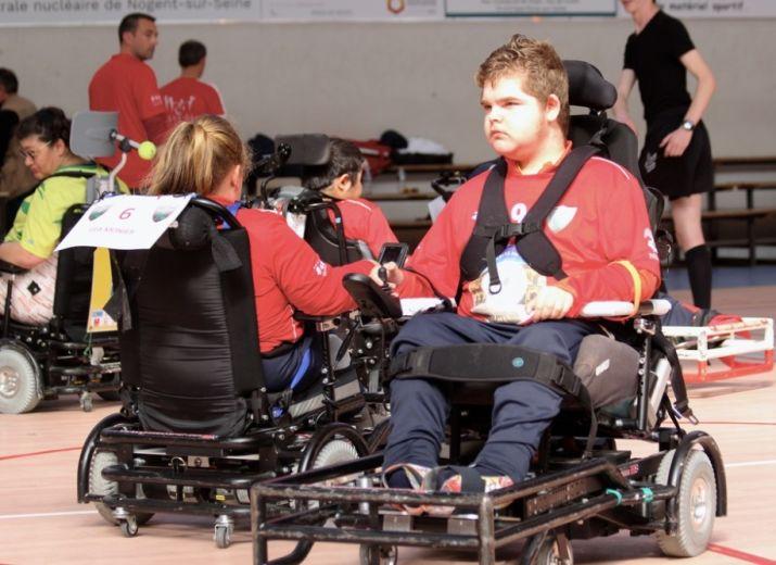 Un fauteuil de foot pour Quentin