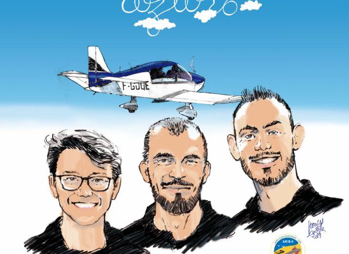 """Faites décoller l'avion solidaire """"AZUR6"""""""