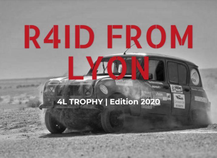 4L Trophy 2020 - Raid From Lyon