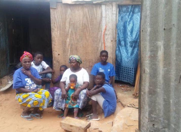 Un toit pour une veuve sénégalaise et ses enfants