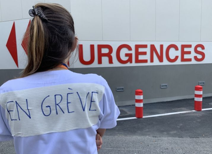 Grève Urgences de Meaux