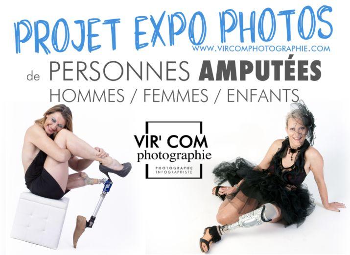 Projet d'Exposition Photos de Personnes AMPUTEES