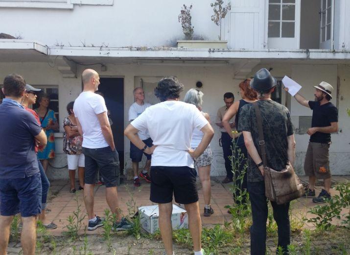 Chantier participatif Café Suspendu