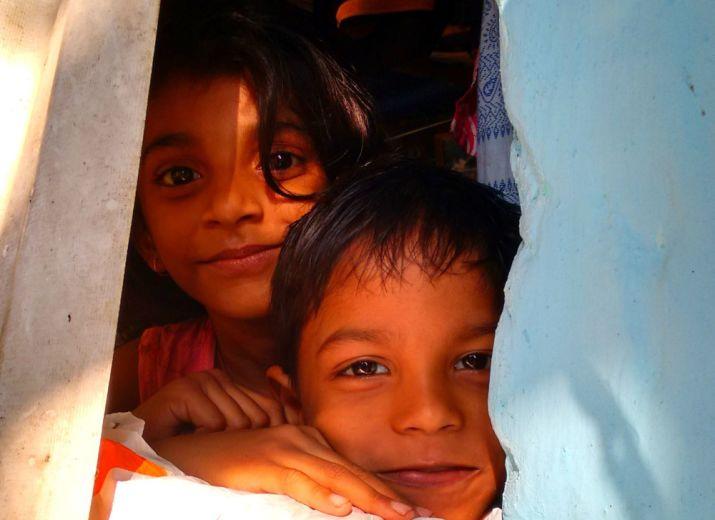 Rénovation d'une école primaire à Alampoondi, Inde