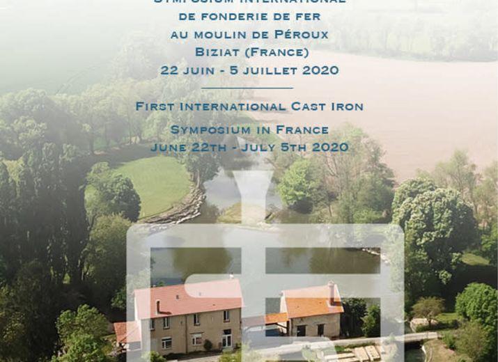 Premier Symposium international de fonderie de fer en France / First international cast iron symposium of France