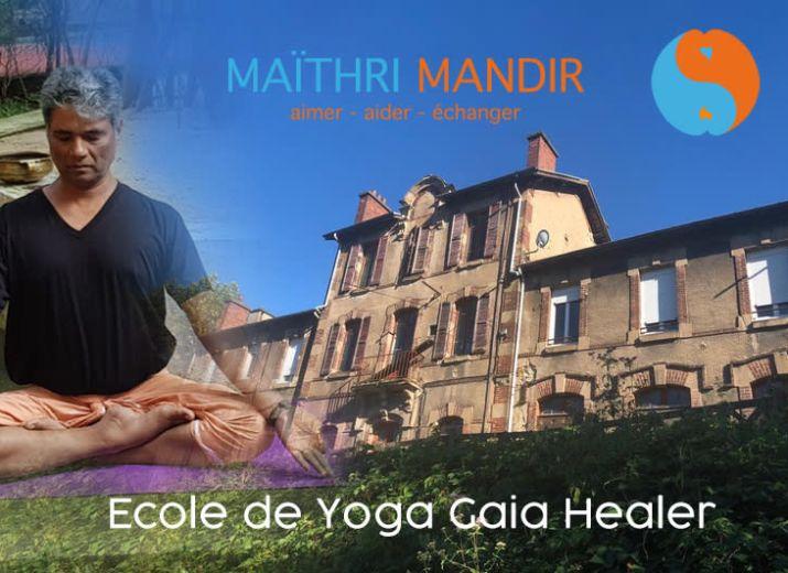 Ecole internationale de yoga : Gaia Healer
