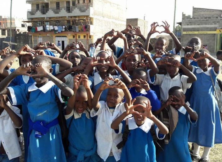 Solidarité pour la rentrée scolaire au Kenya