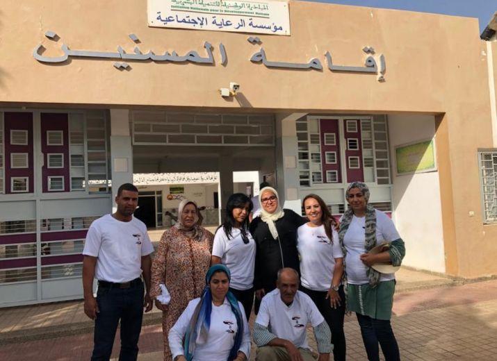 Cartables pour orphelins du Maroc