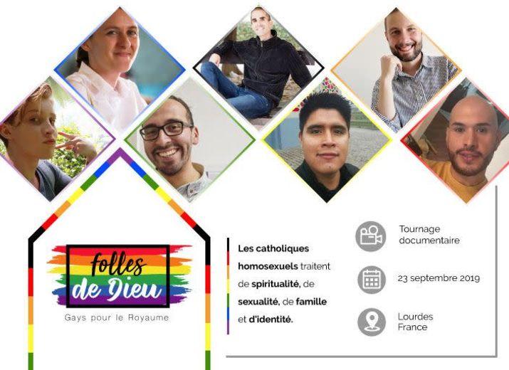 Tournage Homosexualité à Lourdes