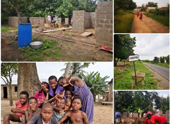 Projet de construction du centre éducatif à Adokpoé, TOGO