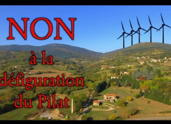 Défendons les crêts du parc du Pilat du projet éolien de Doizieux