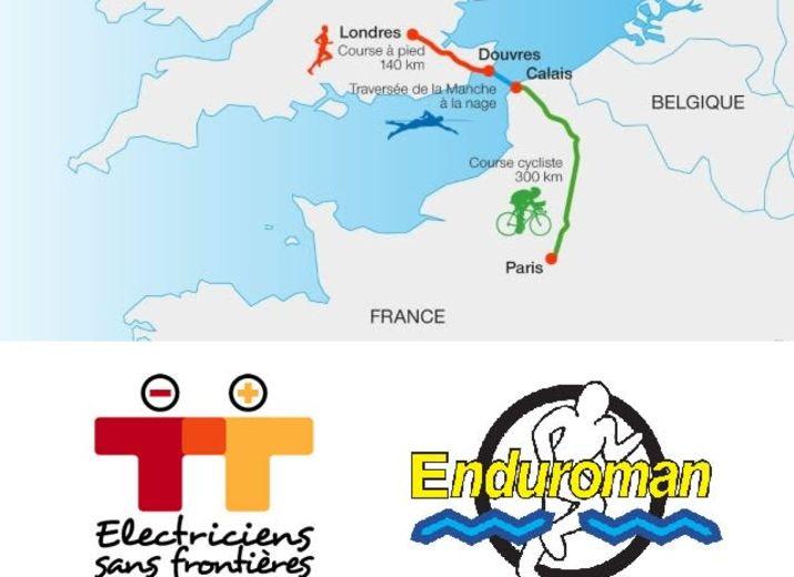Enduroman 2021 - Soutien à Electriciens-sans-frontières