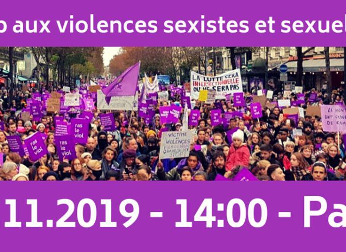 Nous Toutes Lorient à Paris le 23 Novembre