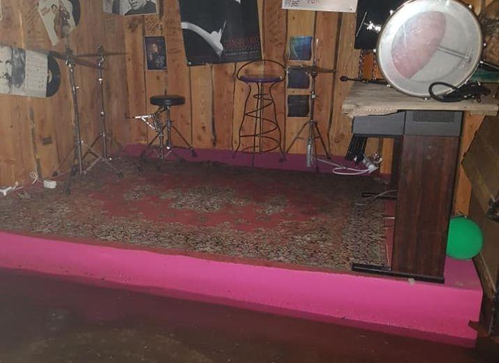 Inondation au Blablah Café