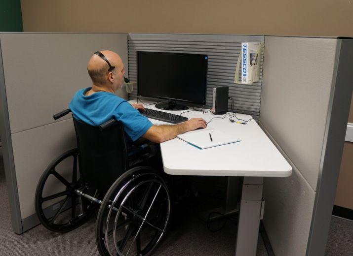 Eingliederung für Menschen mit Einschrenkungen