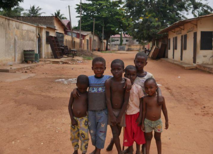 Un noël pour les enfants de Tsévié (Togo)
