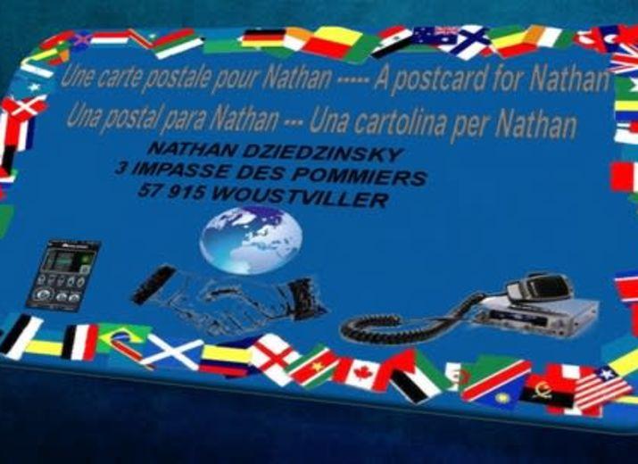 Une carte pour Nathan