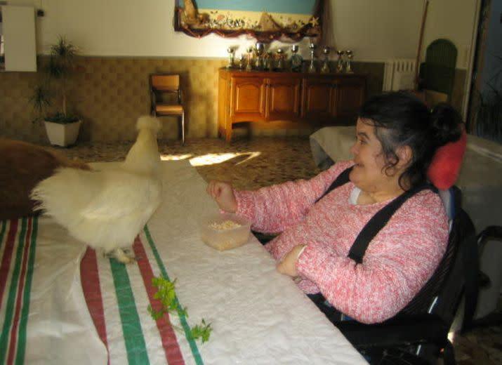 Ateliers thérapeutiques pour jeunes adultes handicapés