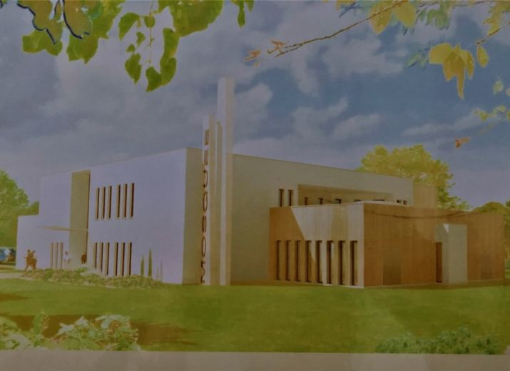 La Mosquée Selahaddin Eyyubi de Val de Reuil
