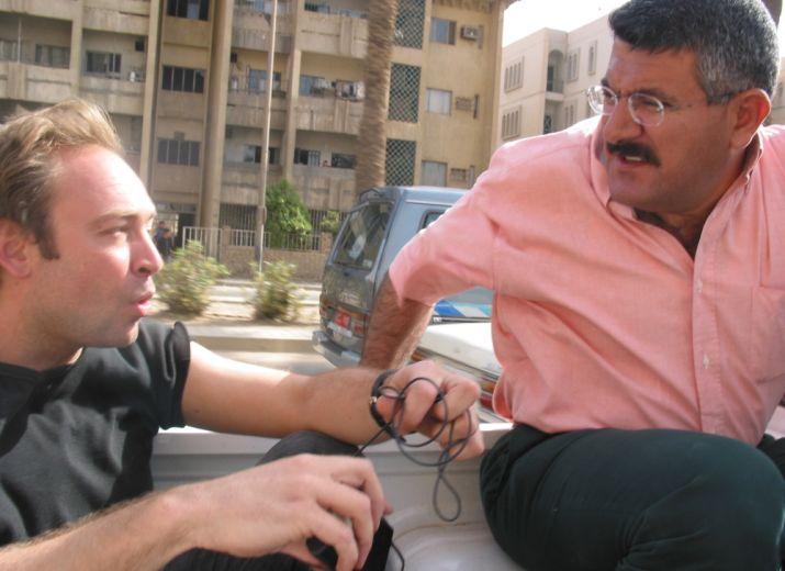 """Tous mobilisés, avec des journalistes français, pour leur """"fixeur"""" irakien"""