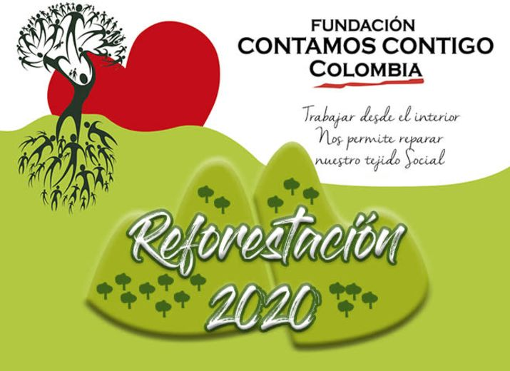 Programa de Reforestación Fundación Contamos Contigo Colombia