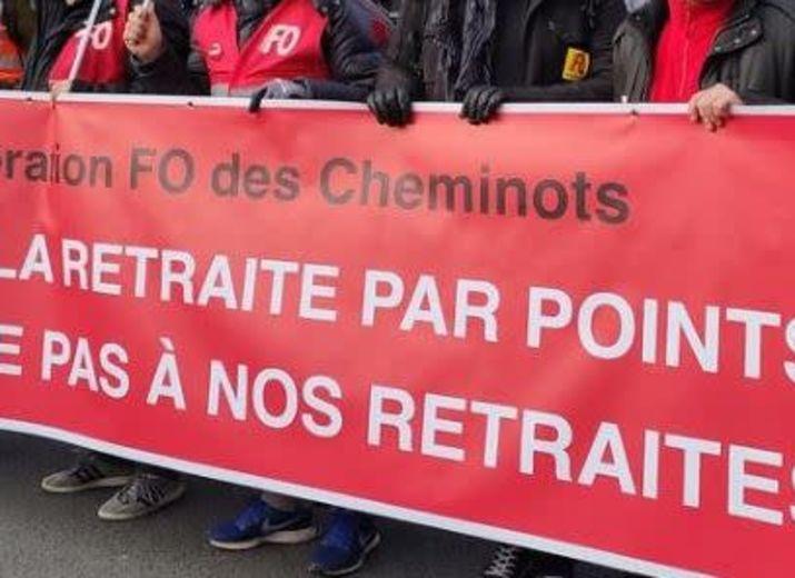 Je soutiens les Cheminots en Grève