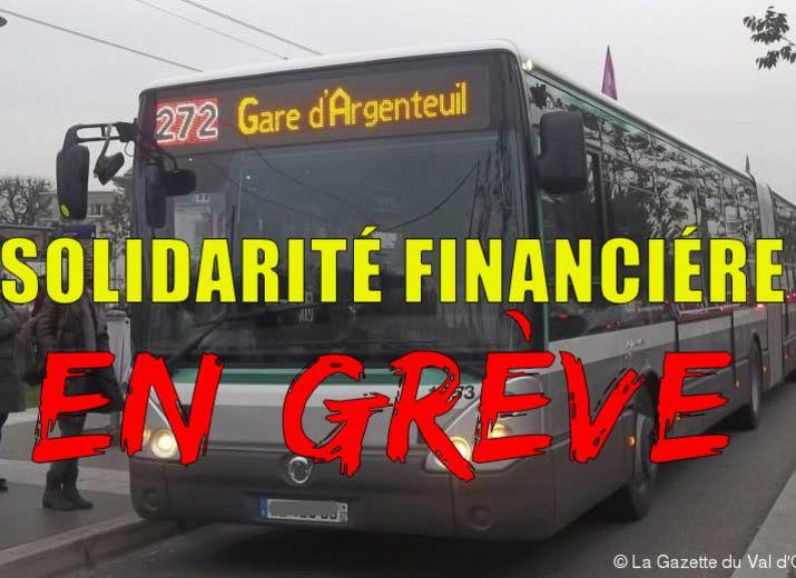 Solidarité financière pour les salariés du 272 en gréve