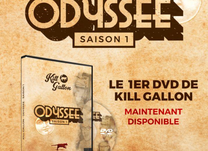 DVD Kill Gallon Odyssée