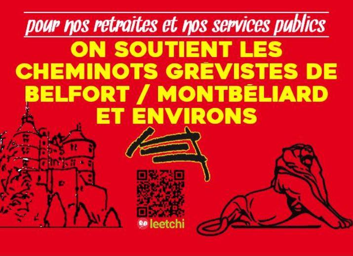 Caisse de Solidarité Cheminots Belfort / Montbéliard