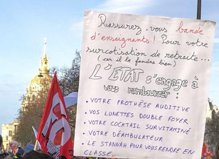 Soutenons les enseignants en grève à Achères et à Conflans !